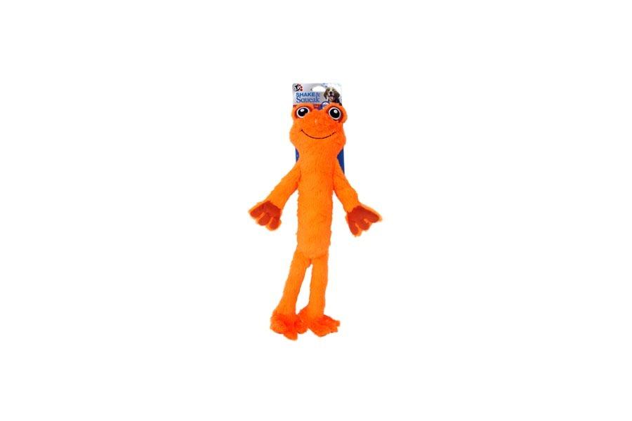 Shake & Squeak Frog in Orange