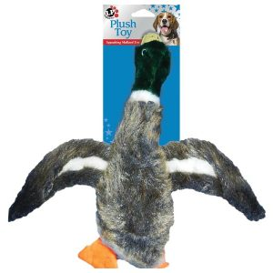 Plush Mallard Duck Dog Toy