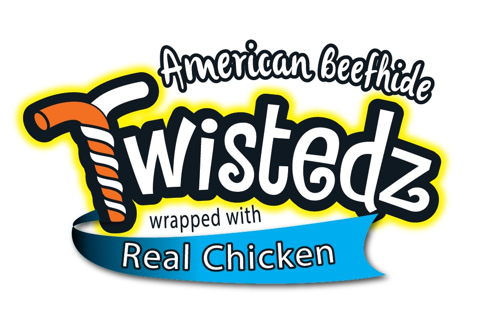 Twistedz wrapped with chicken logo