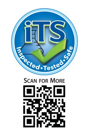 Pet Factory's inspected tested safe icon and QR Code