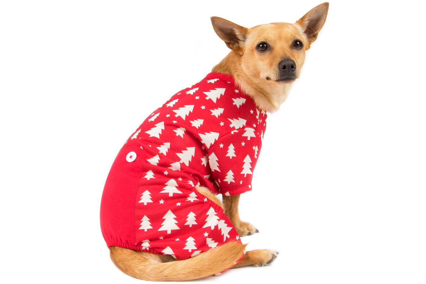 Pet Factory Holiday Pajama x-small to large 84037