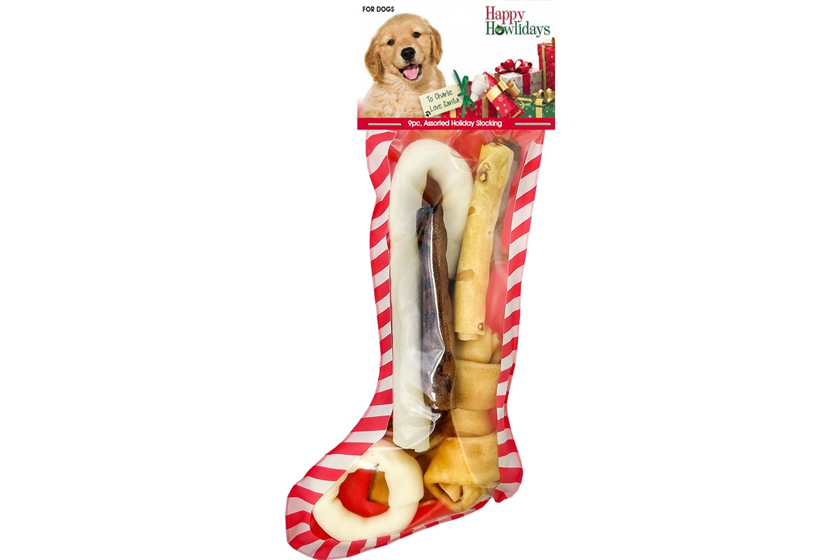 Holiday Stocking Beefhide Assortment Stocking