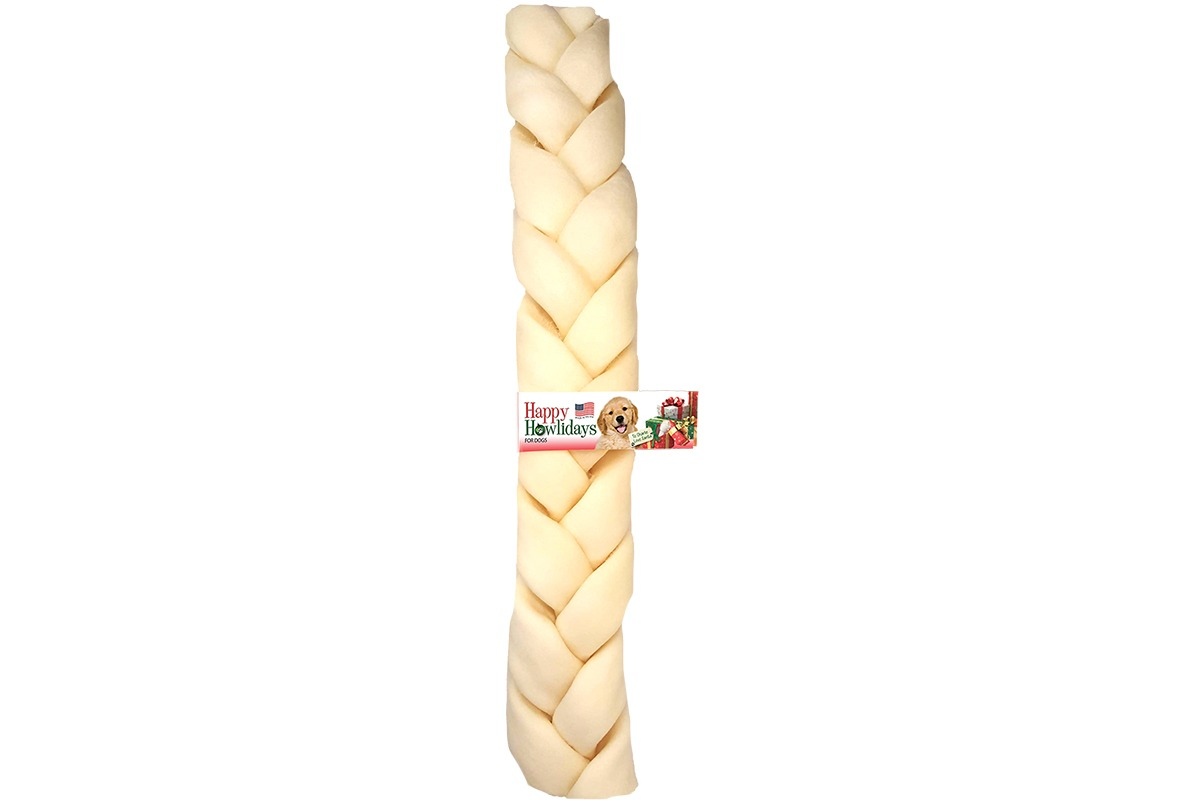 Pet Factory Beefhide Braided Stick image