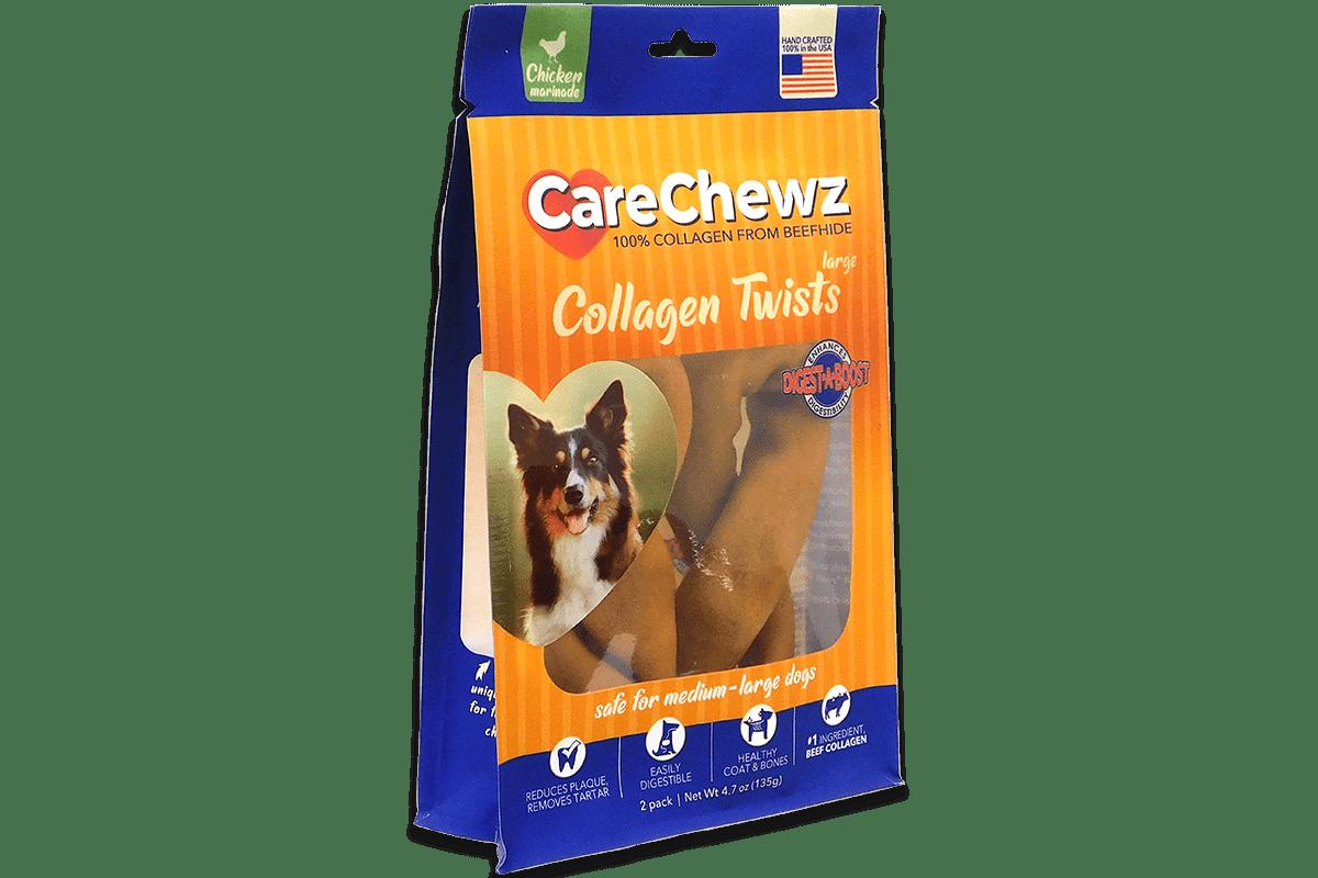 Care Chewz Collagen Twists Chicken