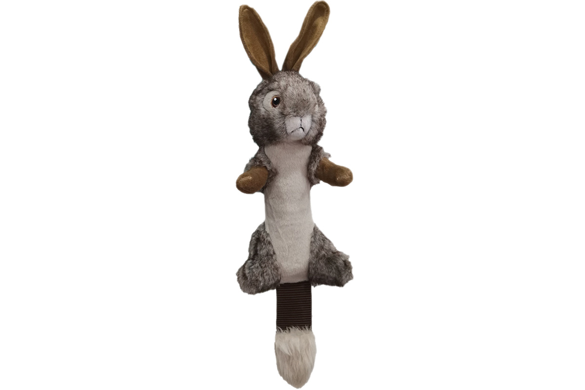 Shake and Squeak Critter Tugz Rabbit