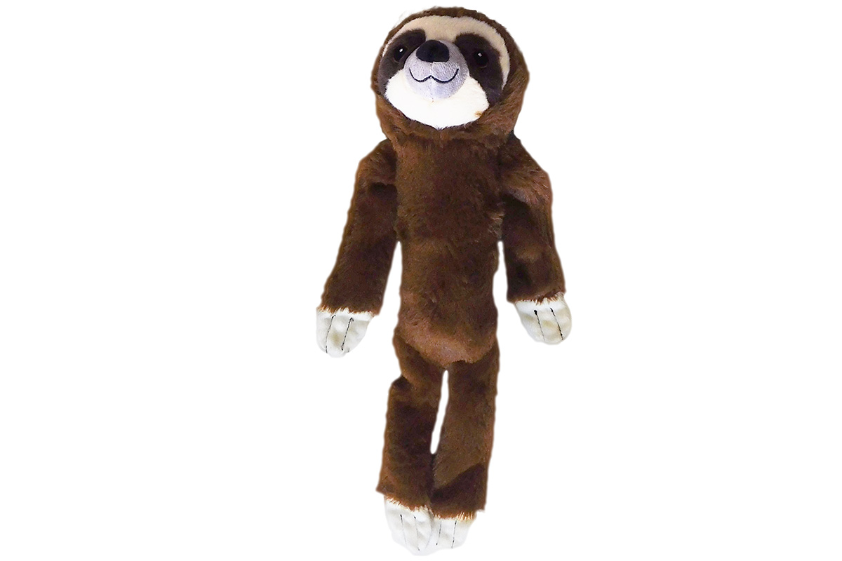 Shake and Squeak Sloth Brown